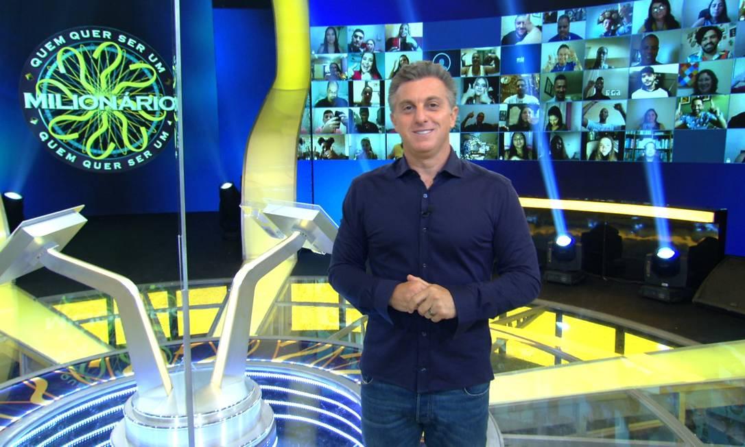 Luciano Huck no 'Caldeirão': aos domingos em 2022 Foto: Globo/Divulgação / Agência O Globo