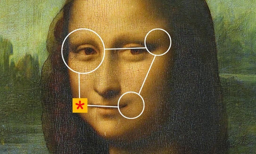Exemplo de deepfake distorcendo a Mona Lisa Foto: Reprodução