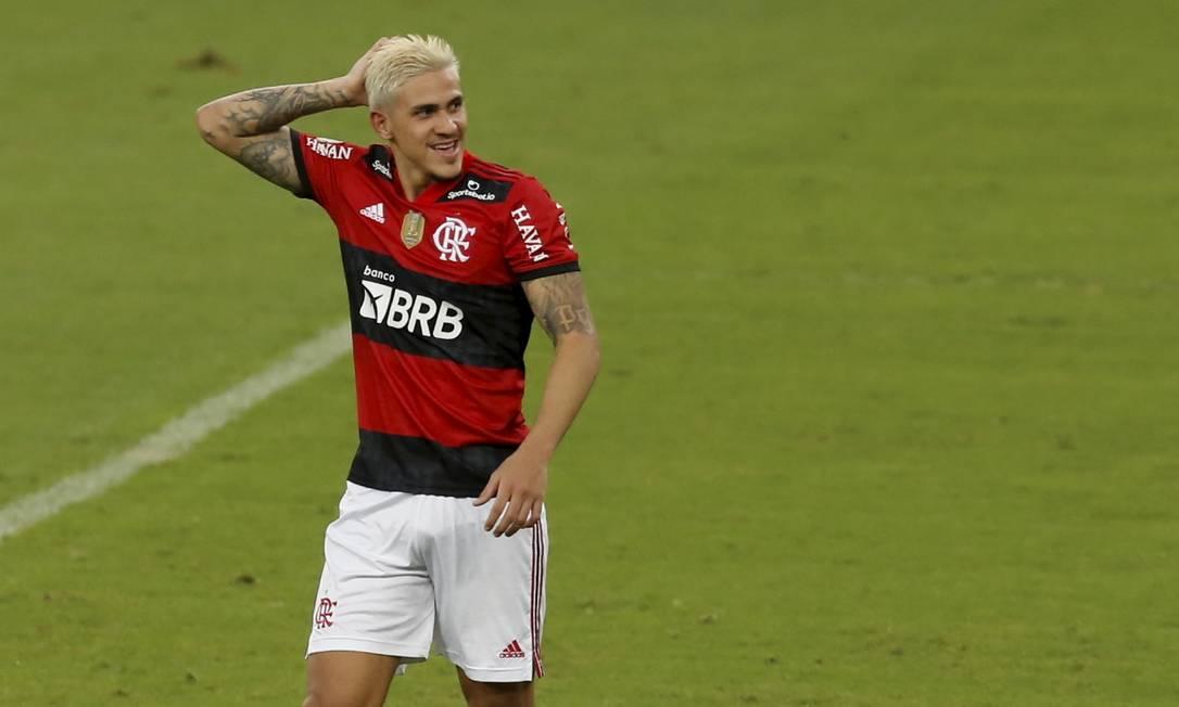 Pedro: pivô de desentendimento entre Flamengo e CBF Foto: Marcelo Theobald