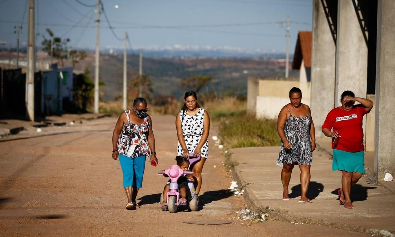 A cidade onde uma vítima do serial killer conseguiu chamar a polícia ficou alterada com a possível presença do assassino. Foto: Pablo Jacob / Agência O Globo