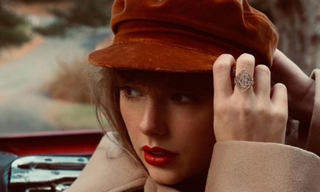 Taylor Swift anuncia regravação do álbum 'Red' Foto: Instagram @bethgarrabrant / Reprodução