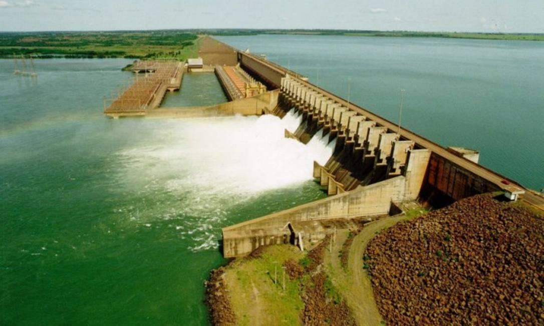 Usina hidrelétrica de Ilha Solteira Foto: Divulgação