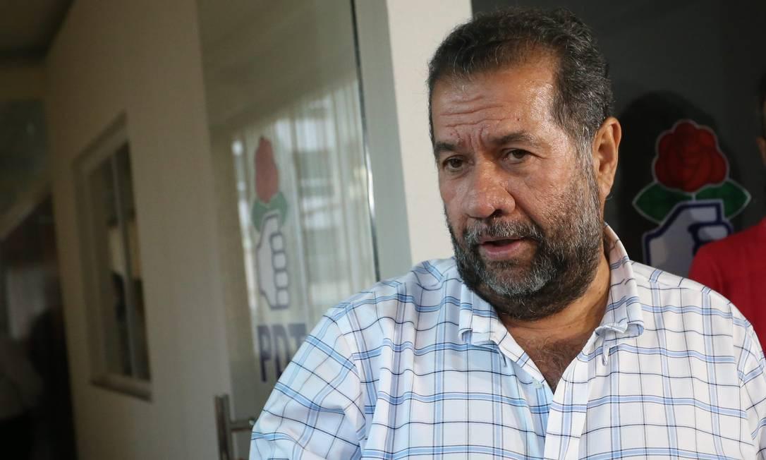 O presidente nacional do PDT, Carlos Lupi Foto: Ailton de Freitas / Agência O Globo