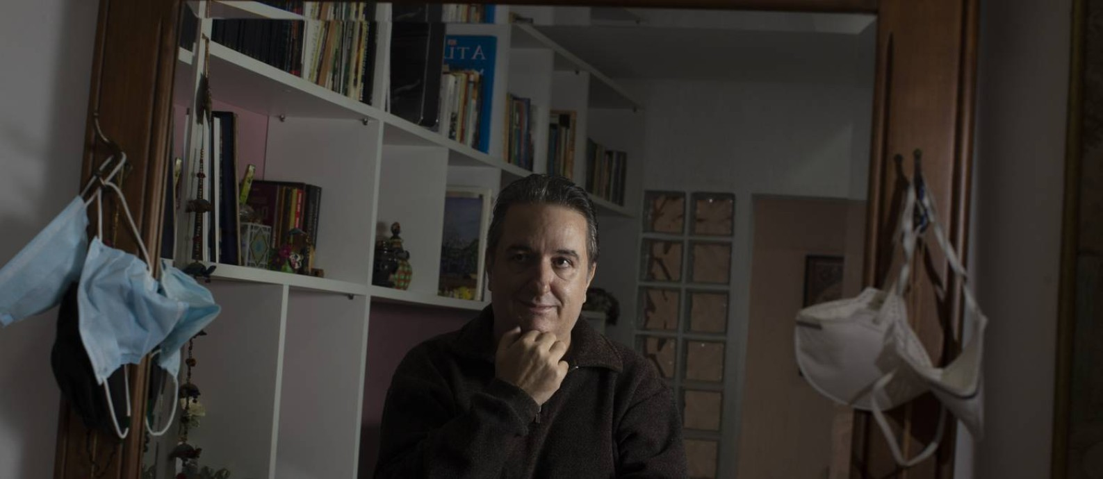 Marcos Vinícius Bolpato da Silva teve Covid depois de ter tomado a primeira dose da AstraZeneca Foto: Márcia Foletto / Agência O Globo