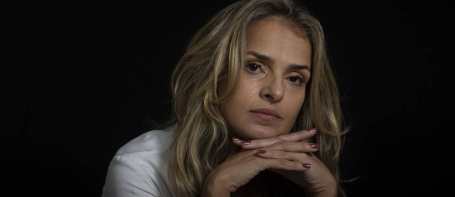 Cecília Magno é chefe de UTI de um hospital particular Foto: Márcia Foletto / Agência O Globo