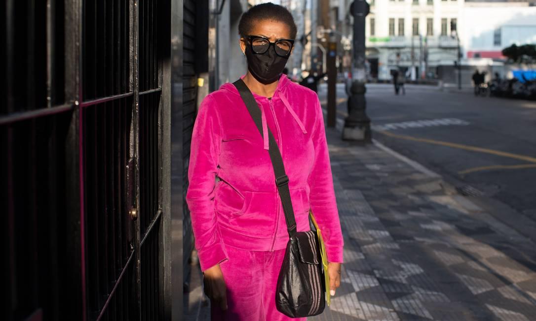 Charlete Viana foi acusada de furto por seguranças de loja Foto: Edilson Dantas / Agência O Globo