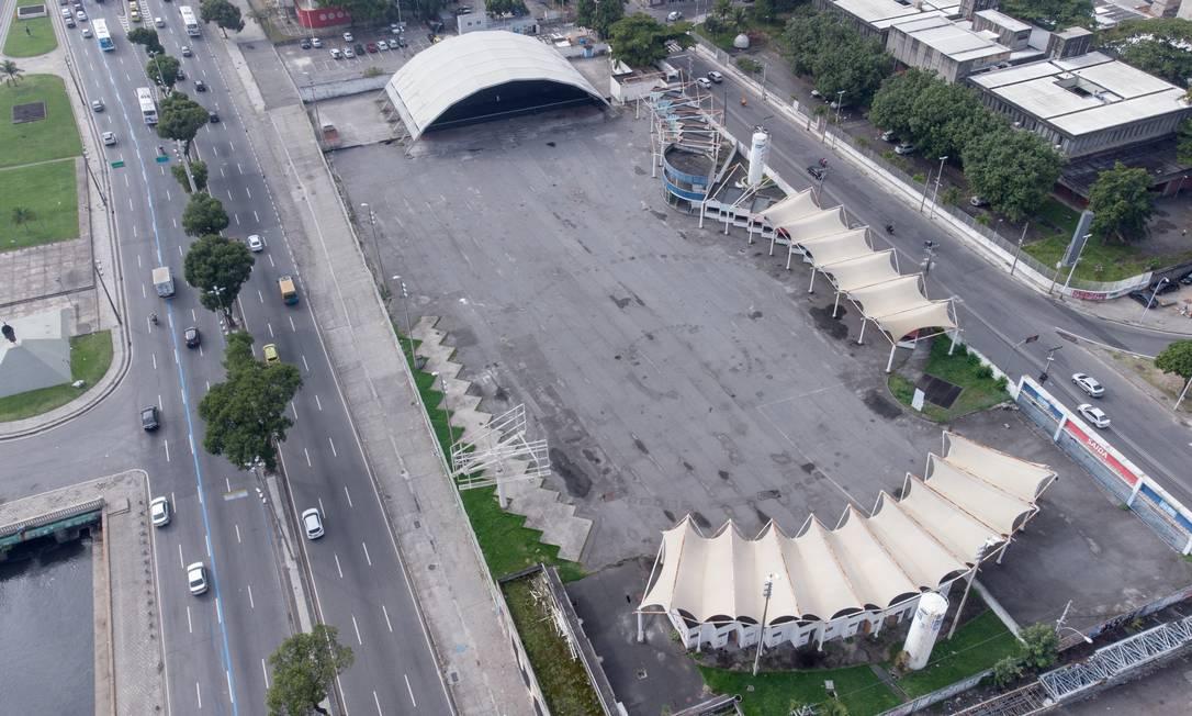 Prefeitura tem planos de revitalização do Terreirão do Samba Foto: Riotur / Divulgação