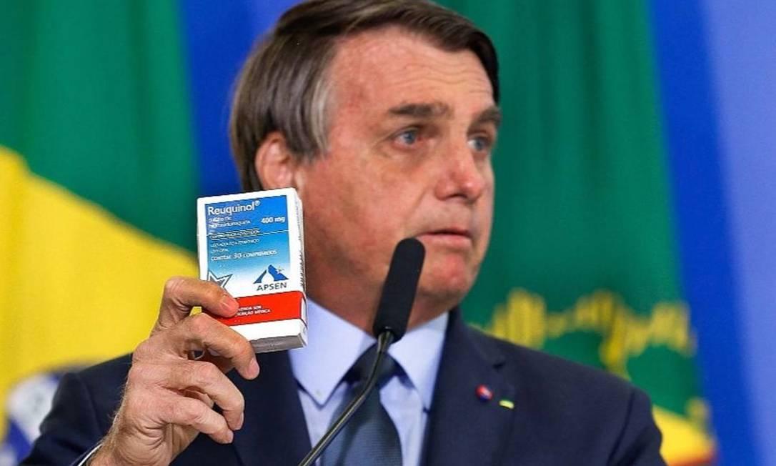 Presidente Jair Bolsonaro Foto: Marcelo Camargo/Agência Brasil