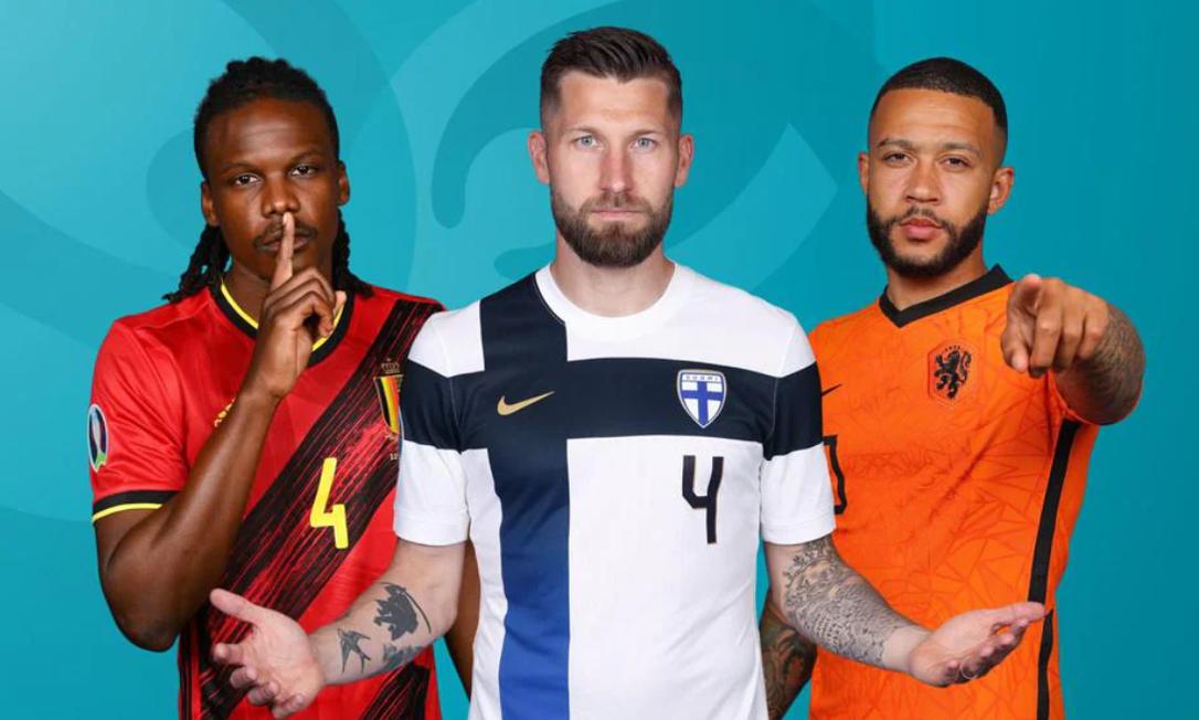 Confira os destaques do 10º dia de jogos da Eurocopa Foto: Divulgação/Uefa