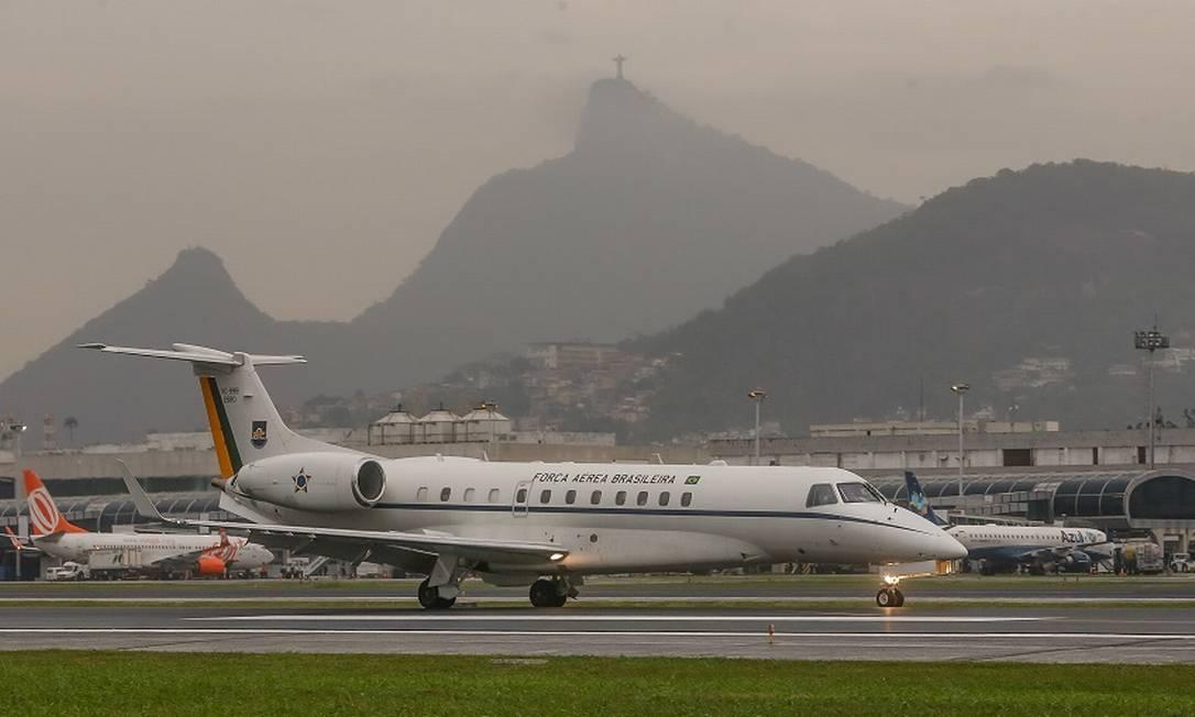 Aeroporto Santos Dumont, no Rio: leilão previsto para o ano que vem Foto: Marcelo Régua / Agência O Globo