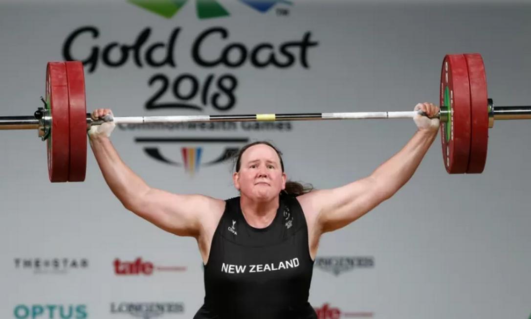 A halterofilista Laurel Hubbard será a primeira atleta transgênero nas Olimpíadas Foto: Paul Childs/Reuters