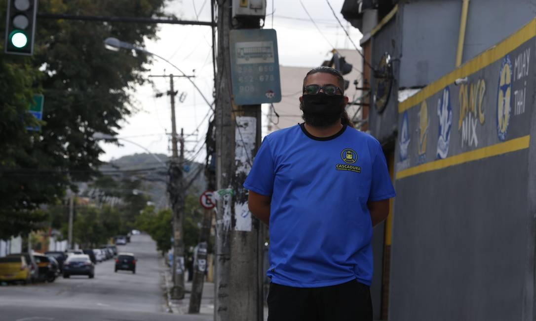 Bruno Jesus: da 652 só restou número na placa em Cascadura Foto: Fabiano Rocha / Fabiano Rocha