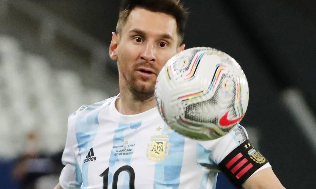 Lionel Messi Foto: SERGIO MORAES / REUTERS