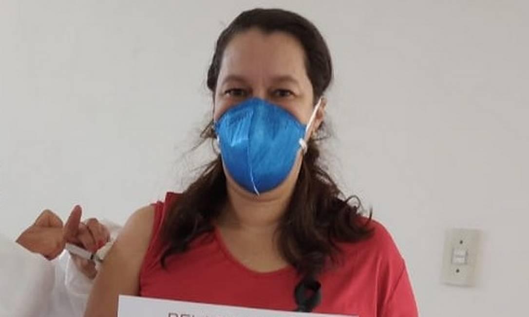 Filha do escritor Olavo de Carvalho, Heloísa se filia ao PT no mesmo dia de sua imunização Foto: Divulgação