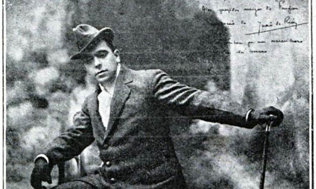 João do Rio em 1909 Foto: Reprodução Wikipedia