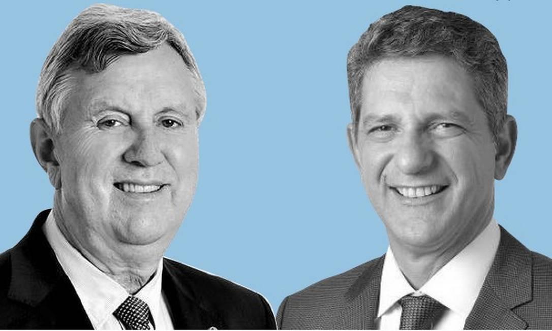 Senadores Luis Carlos Heinze e Rogério Carvalho Foto: Montagem com fotos de divulgação