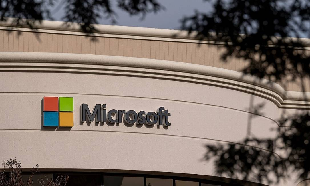 Microsoft: companhia trilionária Foto: David Paul Morris / Bloomberg