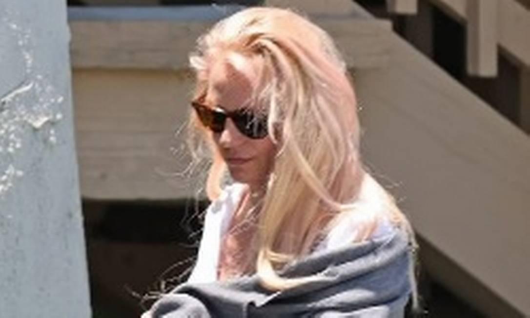 Britney Spears é vista deixando delegacia Foto: Reprodução
