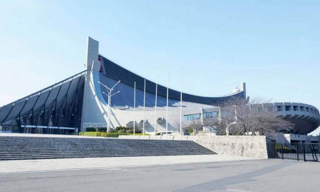 Com capacidade para 10.200 pessoas, o Estádio Nacional Yoyogi vai abrigar o handebol e o rúgbi em cadeira de rodas. É internacionalmente reconhecido pelo design com teto suspenso. Foi construído para competições aquáticas e para o basquete nos Jogos de 1964 Foto: Divulgação