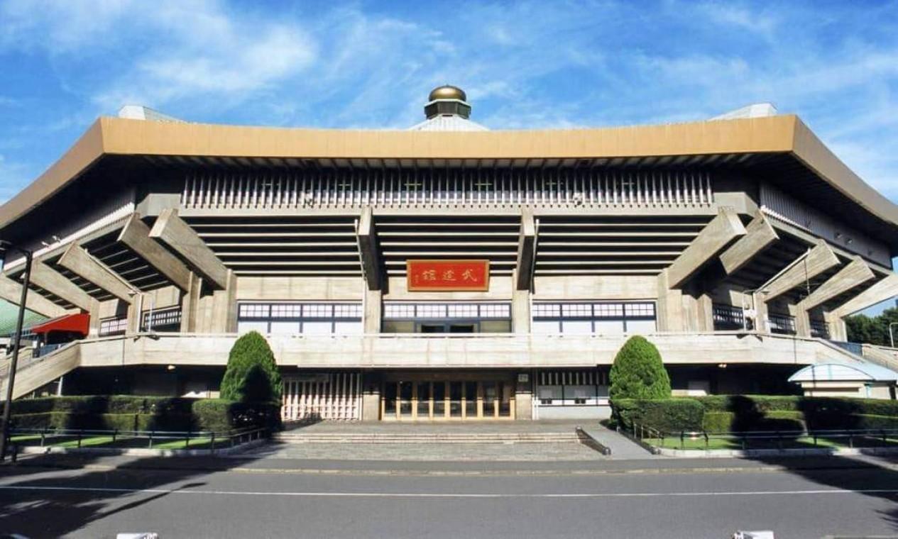 Nippon Budokan é uma arena indoor conhecida como a casa das artes marciais e construída para os Jogos de 1964. Será usada para judô e karatê. Sua capacidade é de 11 mil pessoas Foto: Divulgação