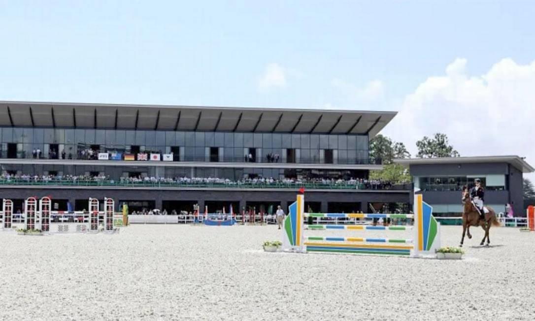 O Parque Equestre sediou as competições equestres nos Jogos de 1964 de Tóquio. Atualmente, serve como o centro principal para a promoção de hipismo e competições equestres. Pode receber até 9.300 pessoas Foto: Divulgação