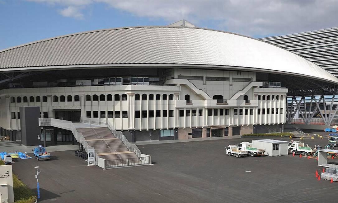 O Ariake Tennis Park é uma das principais instalações de tênis do país, equipado com quadras cobertas e ao ar livre. Tem capacidade para 19.900 espectadores Foto: Divulgação