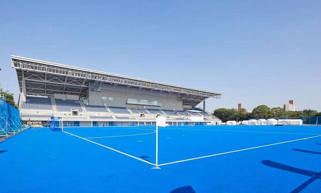 Com capacidade para 15 mil espectadores, o Oi Hockey Stadium vai sediar as partidas de hóquei. Após os Jogos, deverá ser transformado em uma arena multiuso Foto: Divulgação
