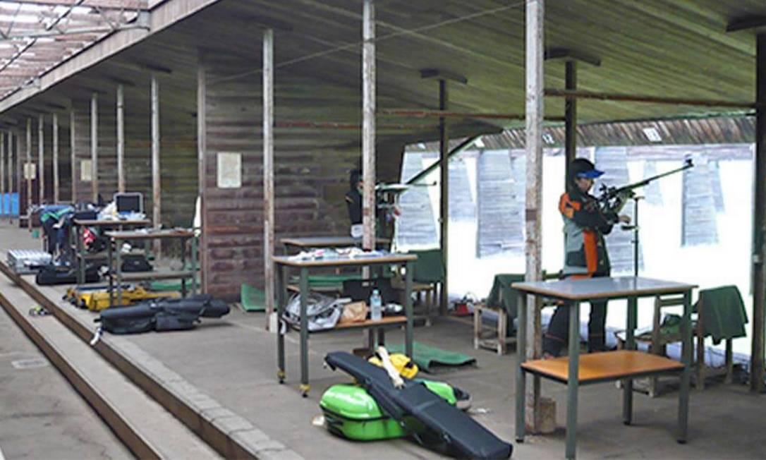 Assim como nos Jogos de 1964, o Campo de Tiro Asaka sediará as competições de tiro. Nesta edição, contará com uma estrutura temporária para receber até 3.200 pessoas Foto: Divulgação