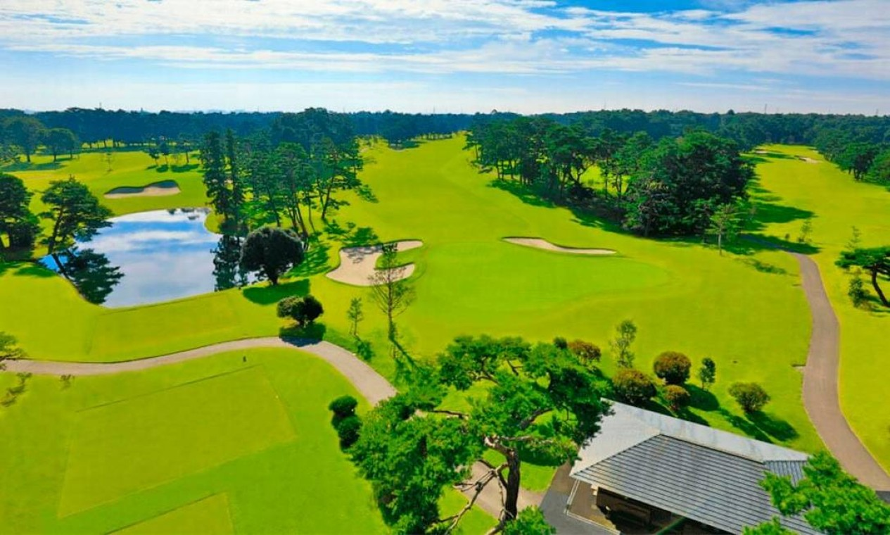 O Kasumimgaseki Country Club será palco do golfe. Está localizado na cidade de Kawagoe, província de Saitama, e pode receber até 25 mil espectadores Foto: Divulgação
