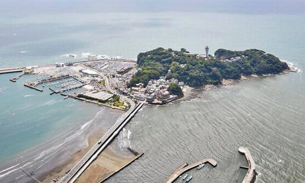 Localizado na cidade de Fujisawa, o Enoshima Yacht Harbour foi construído para os Jogos de 1964. É o primeiro porto do Japão capaz de sediar competições de esportes aquáticos. Vai receber provas de vela. Sua capacidade é de 3.600 pessoas Foto: Divulgação