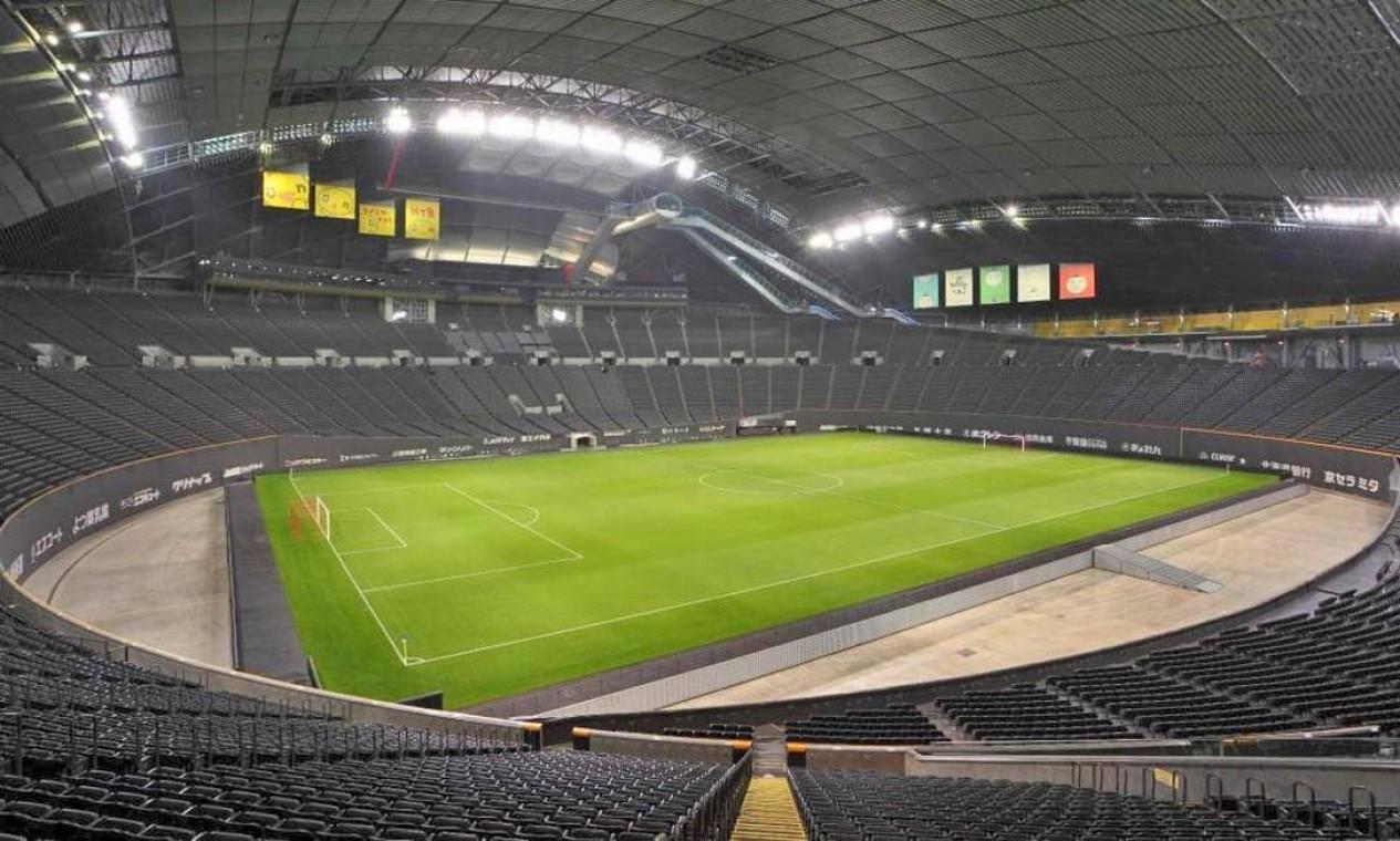 O Sapporo Dome é casa de um time de futebol japonês e um time de beisebol. Está localizado na cidade de Sapporo, na ilha japonesa de Hokkaido. Tem capacidade para 41 mil torcedores Foto: Divulgação