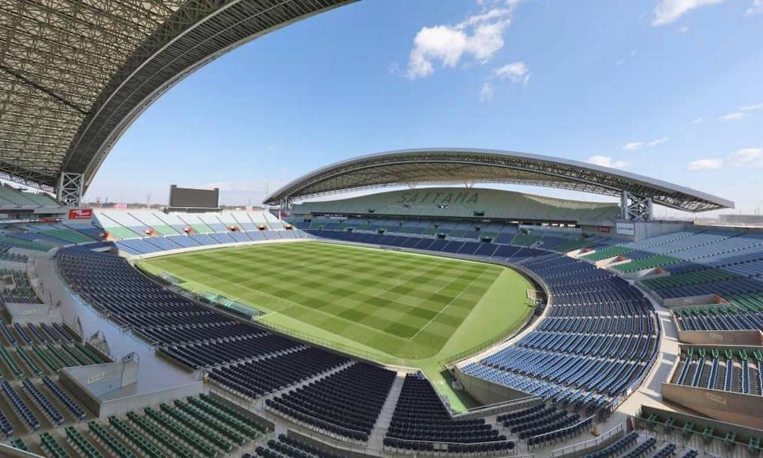 Localizado na cidade de Saitama, o Saitama Stadium tem capacidade para 64 mil pessoas. É casa do Urawa Red Diamonds. Recebeu quatro partidas da Copa do Mundo de 2002, incluindo um jogo do Brasil Foto: Divulgação