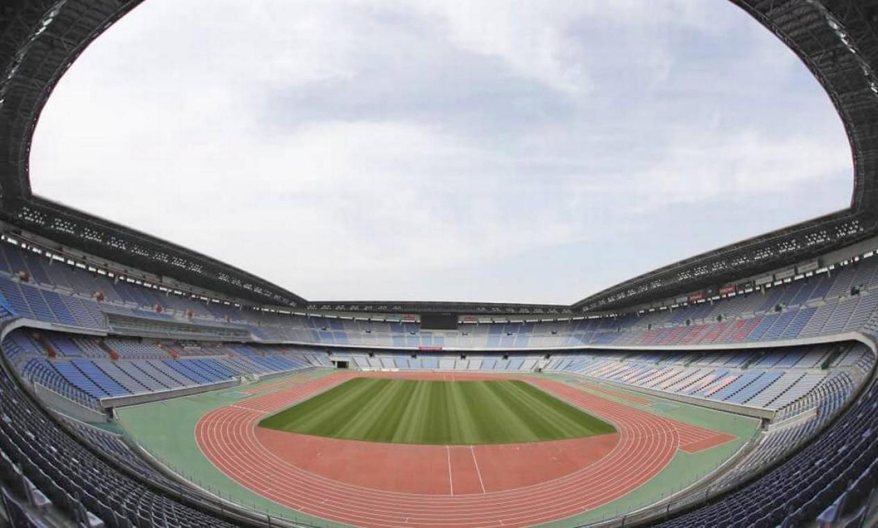 Localizado na cidade de Yokohama, o estádio internacional de Yokohama tem capacidade para 72.327 espectadores. Foi onde o Brasil sagrou-se pentacampeão mundial em 2022, após vitória sobre a Alemanha Foto: Divulgação