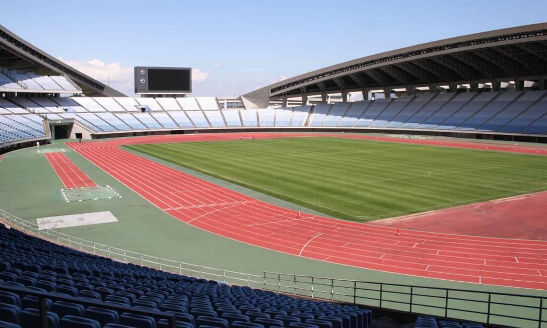 O Miyagi Stadium está localizado na cidade de Rifu e será usado para o futebol. Sua capacidade é de 49 mil pessoas Foto: Divulgação