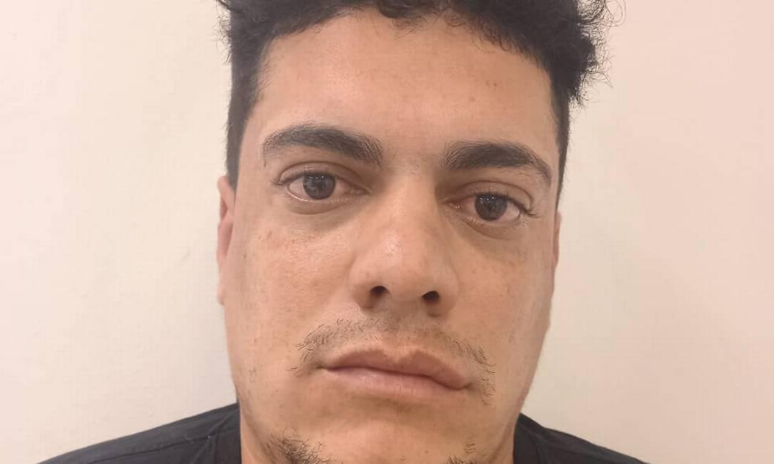 Deivid da Silva Oliveira, conhecido como Leleco: preso Foto: Reprodução
