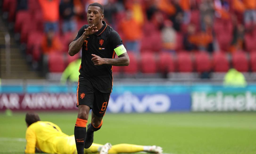 Wijnaldum, centrocampista olandese Foto: KENZO TRIBOUILLARD / AFP