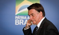 Presidente Jair Bolsonaro Foto: PABLO JACOB / Agência O Globo