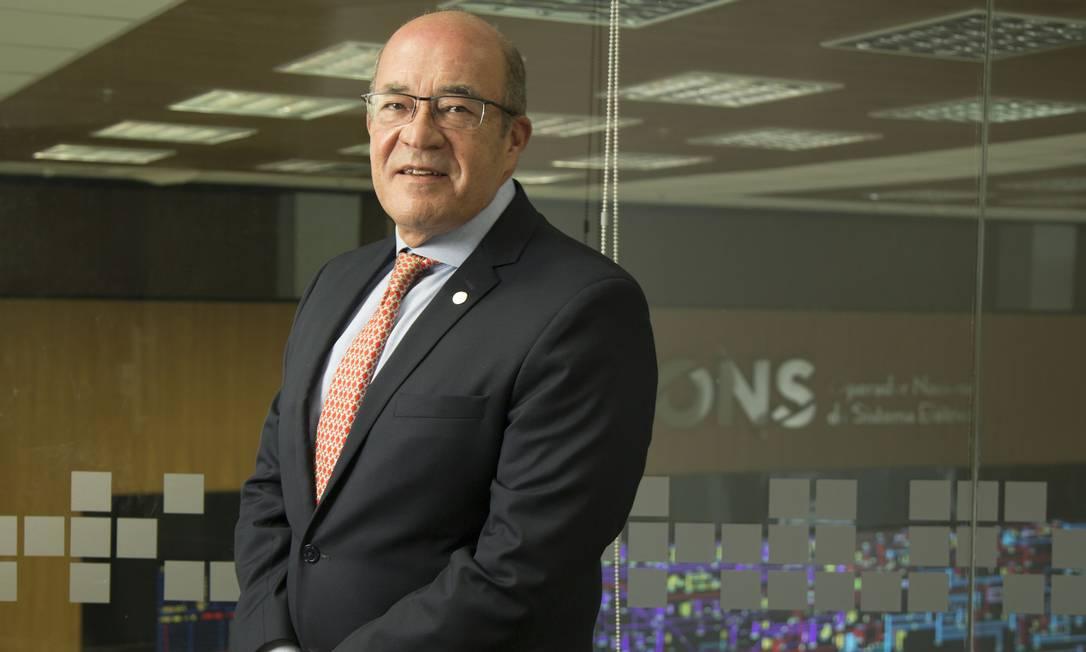 Luiz Carlos Ciocchi é diretor-geral do Operador Nacional do Sistema Elétrico (ONS), Foto: Divulgação