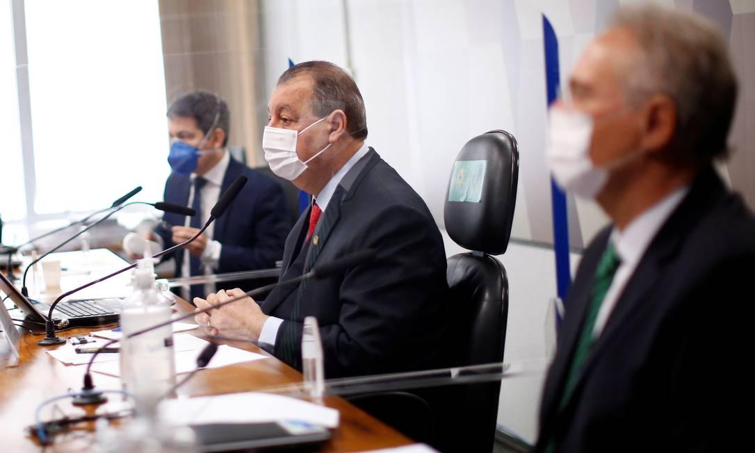 CPI investiga empresa envolvida em contrato da Covaxin Foto: ADRIANO MACHADO / REUTERS