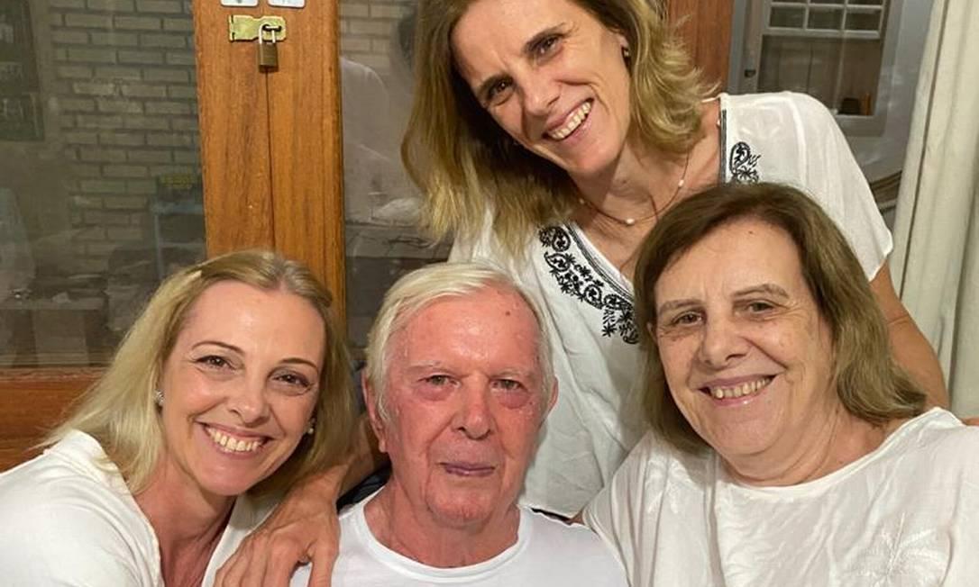 Vítimas da Covid-19, os pais de Daniela morreram com 11 dias de diferença Foto: Arquivo pessoal