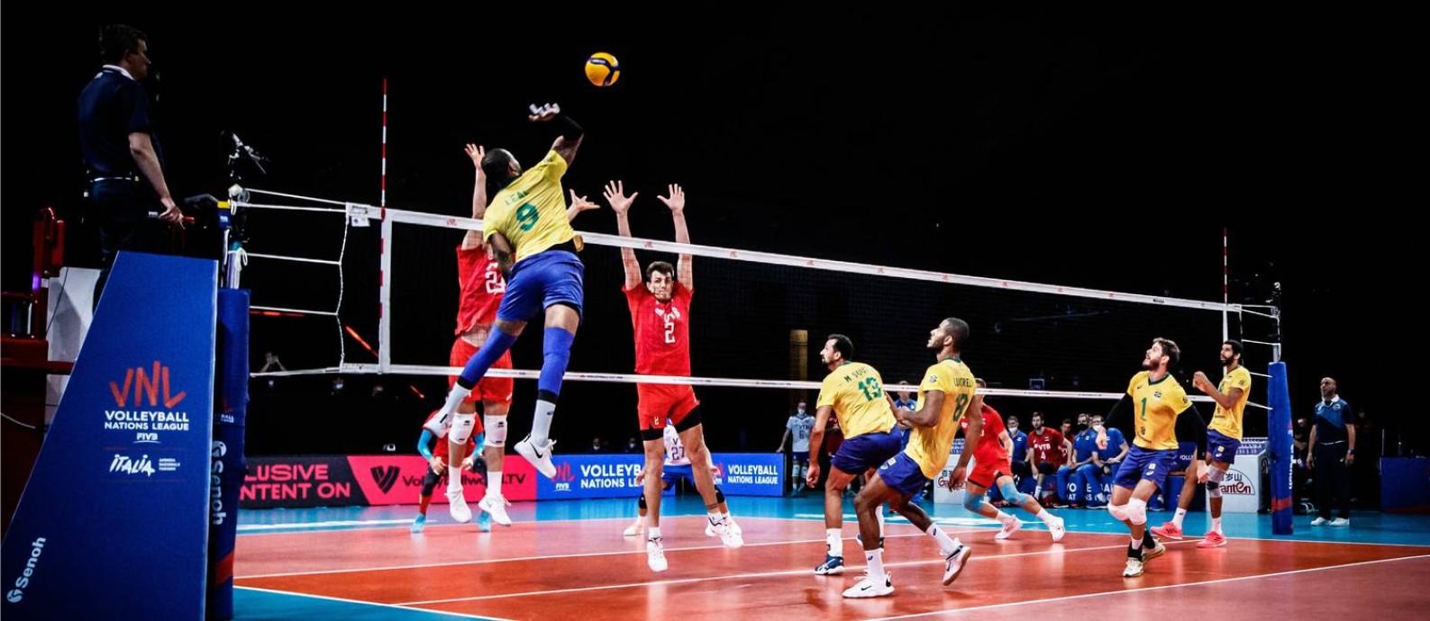 Liga das Nações é última competição antes dos Jogos de Tóquio Foto: Divulgação/Volleyball Nations League