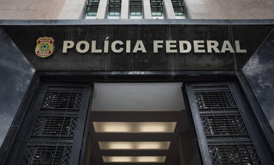 Sede da Polícia Federal do Rio de Janeiro, no Centro Foto: Ana Branco / Agência O Globo