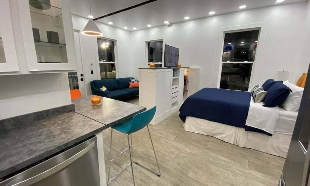 CEO da Tesla e SpaceX se muda para casa com estilo minimalista e sem espaço para luxos Foto: Reprodução/Boxabl