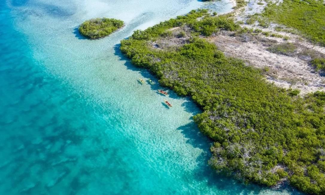 Vinte mortos são encontrados em barco à deriva no Caribe Foto: Reprodução/Divulgação/Ilhas Turcas e Caicos