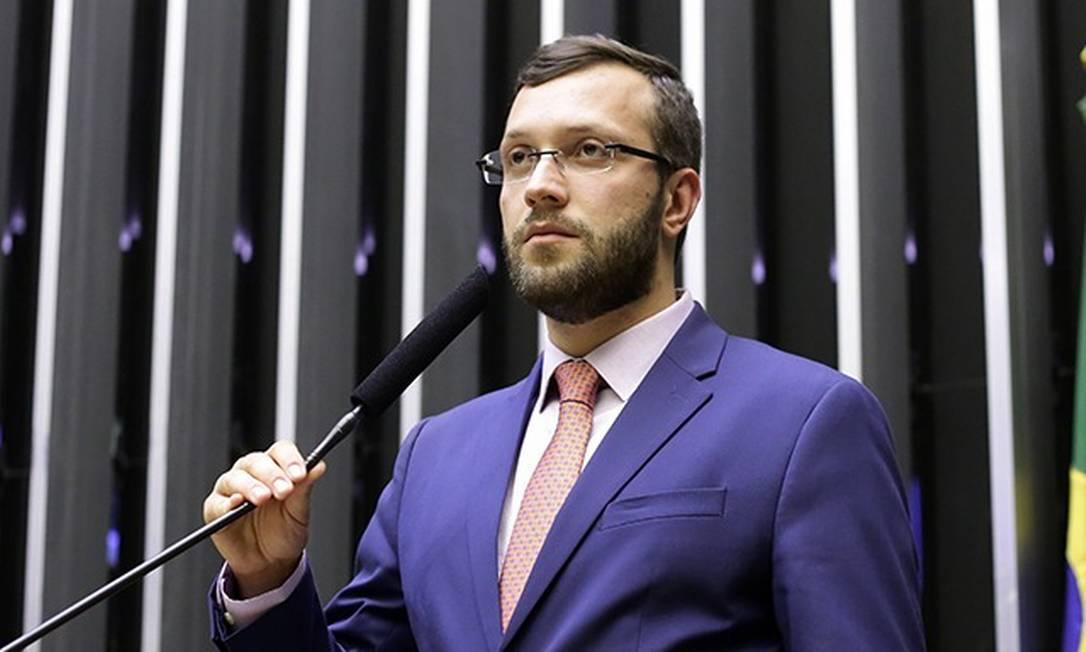 O deputado Filipe Barros (PSL-PR) relator do projeto Foto: Câmara dos Deputados