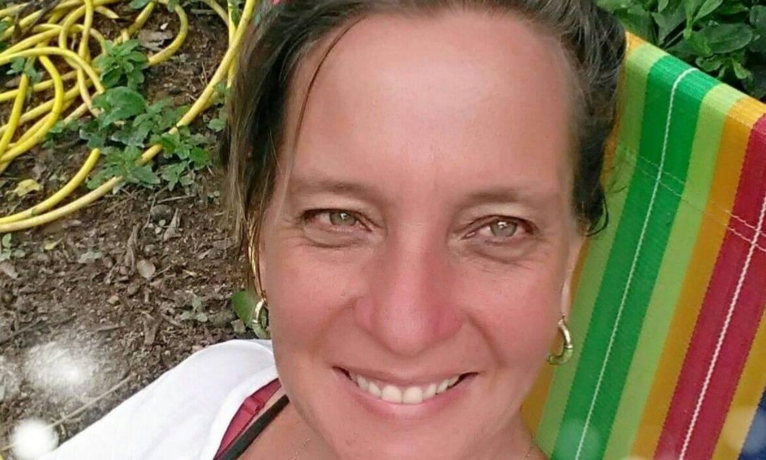 A brasileira Christiane Hartmann foi morta em ataque na Alemanha Foto: Reprodução