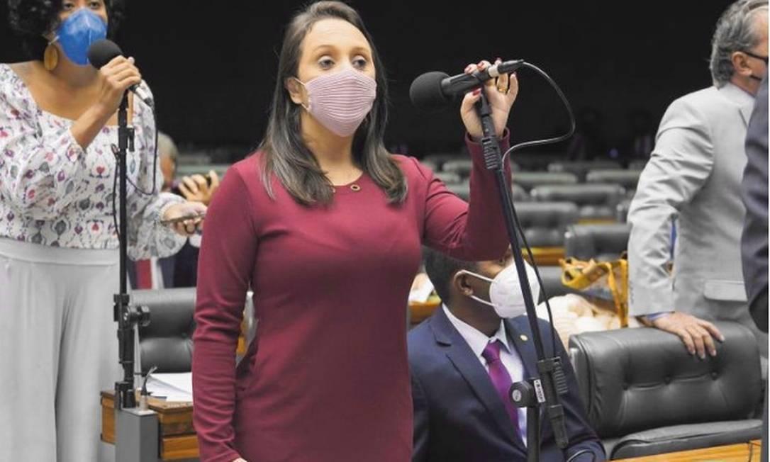 Deputada Renata Abreu Foto: Pablo Valadares/Câmara dos Deputados