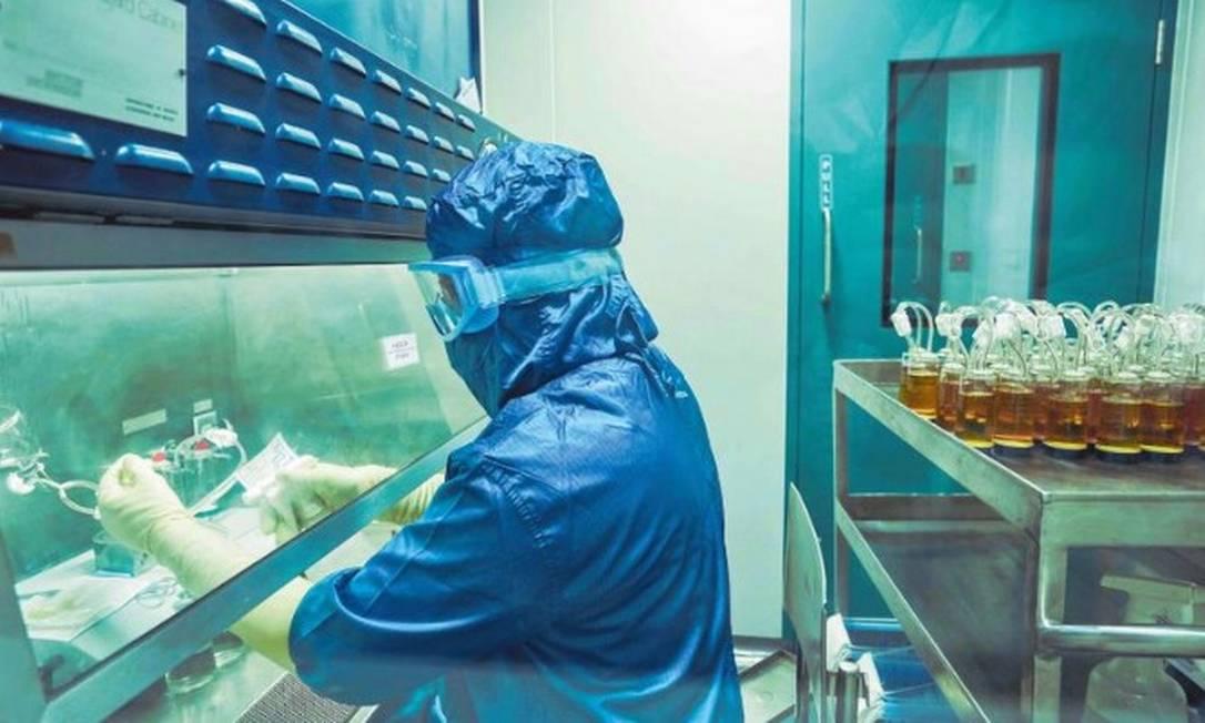 Laboratório indiano Bharat Biotech, que fabrica a vacina Covaxin Foto: Divulgação