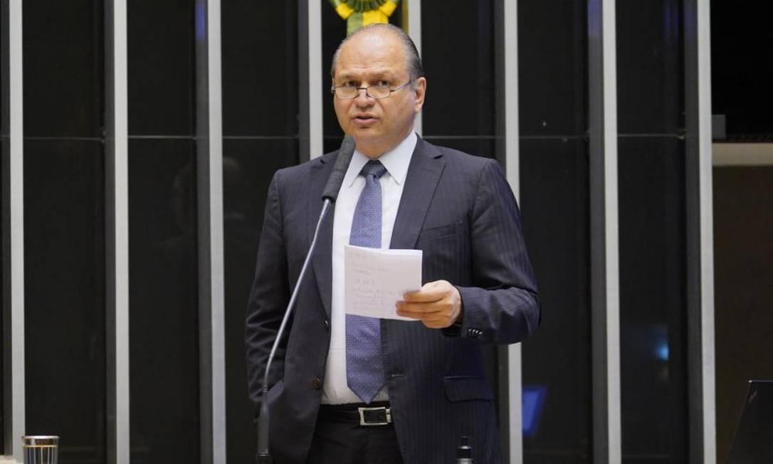 O deputado federal Ricardo Barros (PP-PR), líder do governo na Câmara 09/06/2021 Foto: Agência Câmara