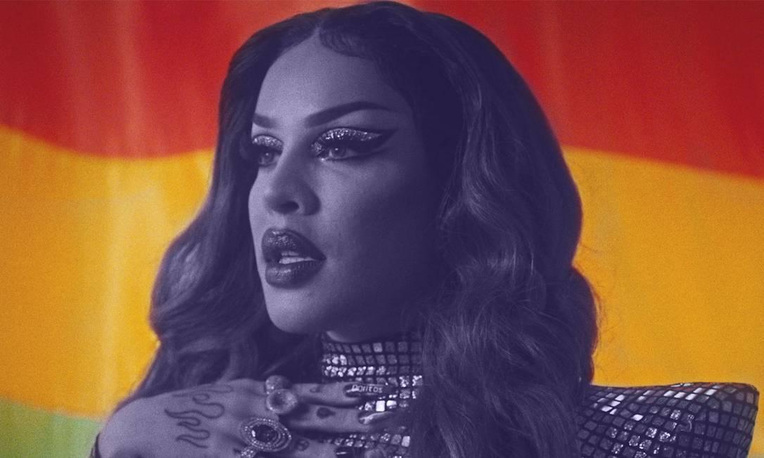 Gloria Groove é uma das estrelas da campanha do Doritos Rainbow Foto: Reprodução